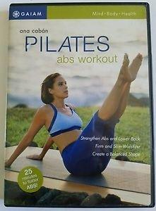 Pilates Abs Workout (DVD, 2004)