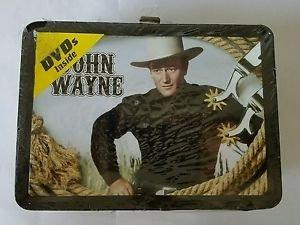 John Wayne: Collectable Tin With Handle (DVD, 2009)