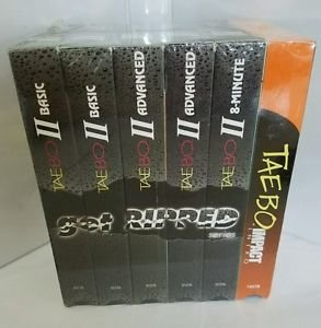 tae bo get ripped serie 6 pack vhs