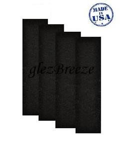 Carbon Activated Pre-Filter 4-pack for GermGuardian FLT4825  AC4800 Filter B