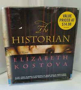The Historian by Elizabeth Kostova (2008, CD, Abridged)