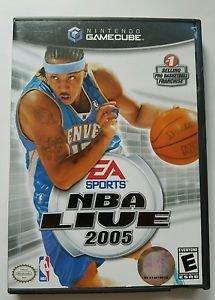 NBA Live 2005 (Nintendo GameCube, 2004)