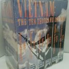 Vietnam: The Ten Thousand Day War Boxed Set (VHS, 2000, 6-Tape Set)