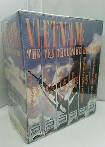 Vietnam: The Ten Thousand Day War Boxed Set (VHS, 2000, 6-Tape Set)