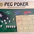 VINTAGE 1993  Peg Poker Game by Peg Poker