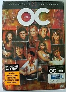 The O.C. - The Complete First Season DVD, 2004, 7-Disc Set