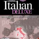 ITALIAN DELUXE EDITION #1 LANGUAGE PRODUCT WORLDWIDE 8 DISK INSTANT IMMERSION