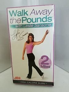 Walk Away the Pounds with Leslie Sansone - High Calorie Burn: 2 Miles (VHS,...