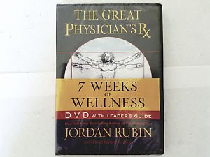 THE GREAT PHYSICIAN'S RX 7 WEEKS WELLNESS JORDAN RUBIN DVD BRAND NEW