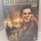 Alejandro Sanz - En Concierto - Gira No Es Lo Mismo 2004 (DVD, 2005, 2-Disc Set)