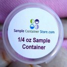 (96) 1.2&quot; Custom Laser Labels for 1/4 oz Sample Containers Read entire listing