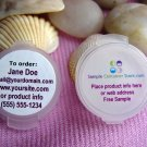 """(240) Mixed labels Matte & White Glossy Custom Laser Printed 1"""" Round Labels Read entire listing"""