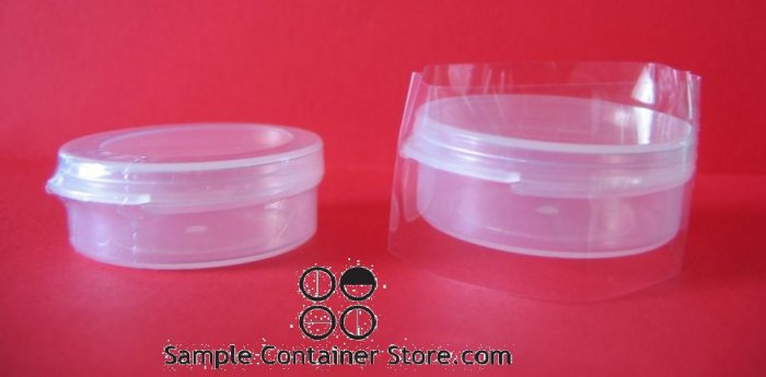 (50) Tamper Resistant Shrink Band for 1/4oz Containers