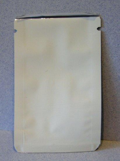 "(1,000) Mini 2"" x 3"" Aluminum Heat Seal Sample Pouch Ultra-high barrier"