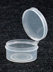(50)  1 Ounce Sample Container Clear