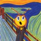 The Bee Scream - set of 8 cards