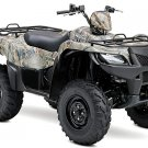 2012 Suzuki KingQuad 500AXi Power Steering Camo ATV Utility SPECIAL PRICE !!!