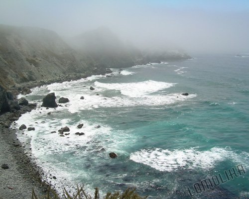 San Martin Rock - Central California Coast - 8x10 - Original Fine Art Photograph - FREE SHIPPING