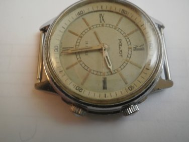 Soviet vintage ALARM wristwatch POLJOT