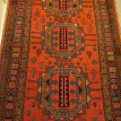 ANTIQUE CAUCASIAN HAND KNOTTED WOOL RUG, Size: 7,3x5,3