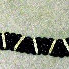 Black and Silver Bracelet