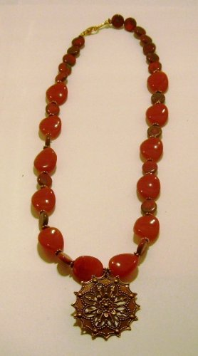 Copper Sun Necklace