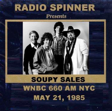 SOUPY SALES RADIO SHOW WNBC 660 AM NY 5-21-85