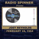 JOEY REYNOLDS RADIO SHOW WKBW 1520 AM BUFFALO 2-24-64