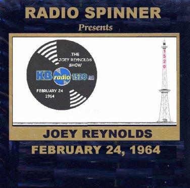 JOEY REYNOLDS RADIO SHOW WKBW 1520 AM BUFFALO 2-24-64