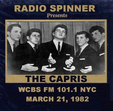 The Capris on Don K. Reed Doo Wop Shop WCBS FM