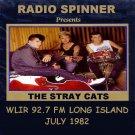 STRAY CATS INTERVIEW WLIR FM LONG ISLAND JULY 1982