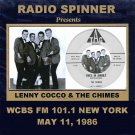 LENNY COCCO & THE CHIMES ON DON K. REED WCBS FM 101.1 NYC 5-11-86