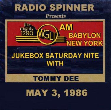 TOMMY DEE WGLI 1290 AM BABYLON LONG ISLAND DOO WOP AIRCHECK 5-3-1986
