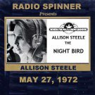 "ALLISON STEELE ""THE NIGHT BIRD"" WNEW 102.7 FM NYC MAY 22, 1972"