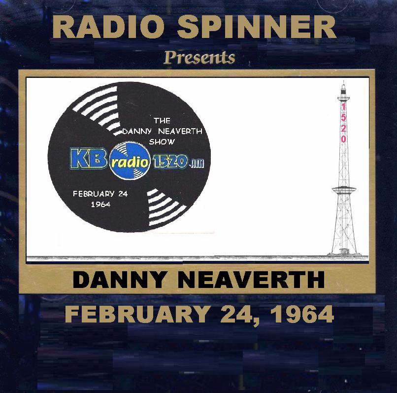 DANNY NEAVERTH RADIO SHOW AIRCHECK WKBW 1520 AM 2-24-1964