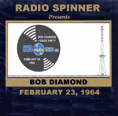 BOB DIAMOND RADIO SHOW WKBW 1520 AM BUFFALO NY 2-23-64
