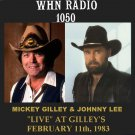 "MICKEY GILLEY & JOHNNY LEE ""LIVE"" AT GILLEY'S"