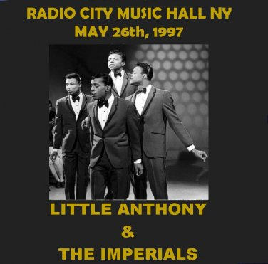 LITTLE ANTHONY & THE IMPERIALS IN CONCERT