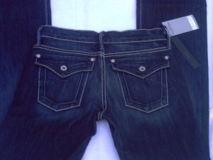 Women's JAMES JEANS ICON Dry Aged Denim dk Blue Size 24