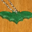 "16"" Green Glitter Mini Bat"