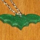 """16"""" Green Glitter Mini Bat"""