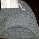 Brim knit cap black