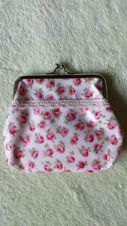 Japan flower Coin Bag