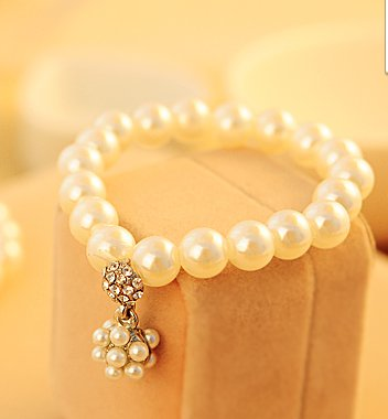 Korean imitation pearl bracelet
