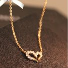 Wishing diamond necklace full of love