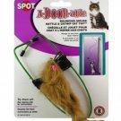Spot A-DOOR-able Bouncing Fur Mouse Catnip Toy