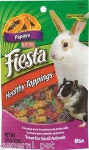 Fiesta Healthy Toppings Papaya Small Animals 2.5oz