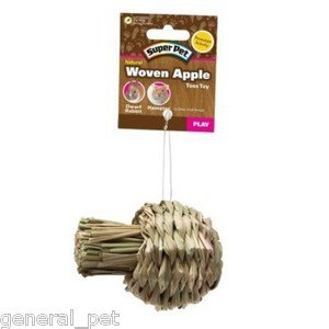 Super Pet Natural Woven Apple Toy