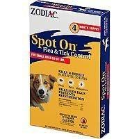 Zodiac Spot on Flea & Tick Spot On For Small Dogs