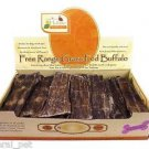 Canine Caviar Buffalo Jerky Flat 6 inch 1 pack